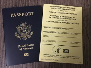 Travel Documents for Crisis Preparedness while traveling