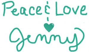 Jenny In Wanderland Signature