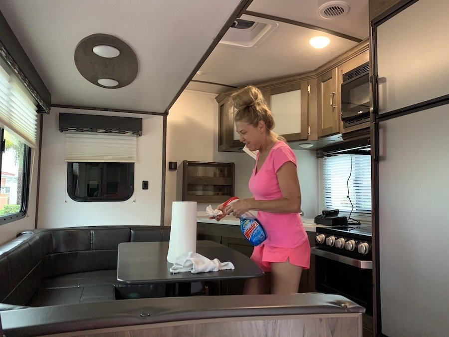 I bought an RV Camper Trailer