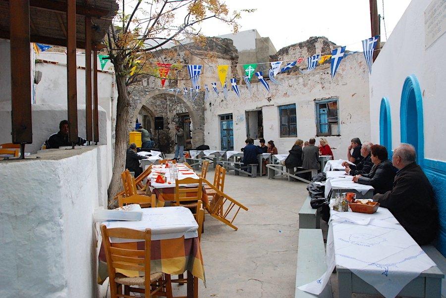 The Feast Of Saint Michael, Nisyros, Greece