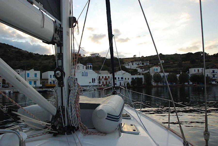 Departing Nisyros