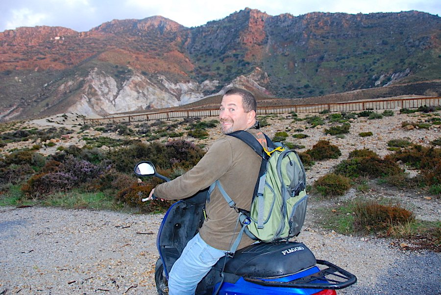 Motorbiking Nisyros
