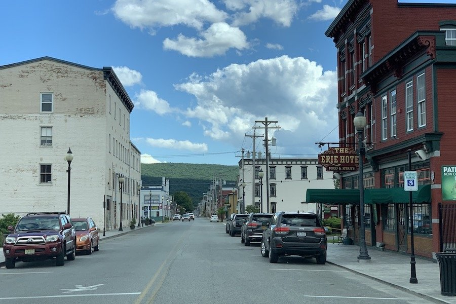 Strolling the Downtown Front Street is part of a One Day Itinerary in Port Jervis