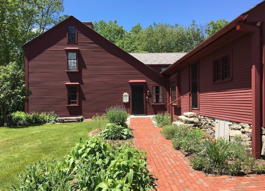 Exterior of Willard House - one of five unique New England Attractions to Visit