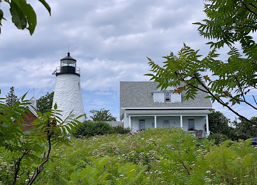 Lighthouse Castine, Maine