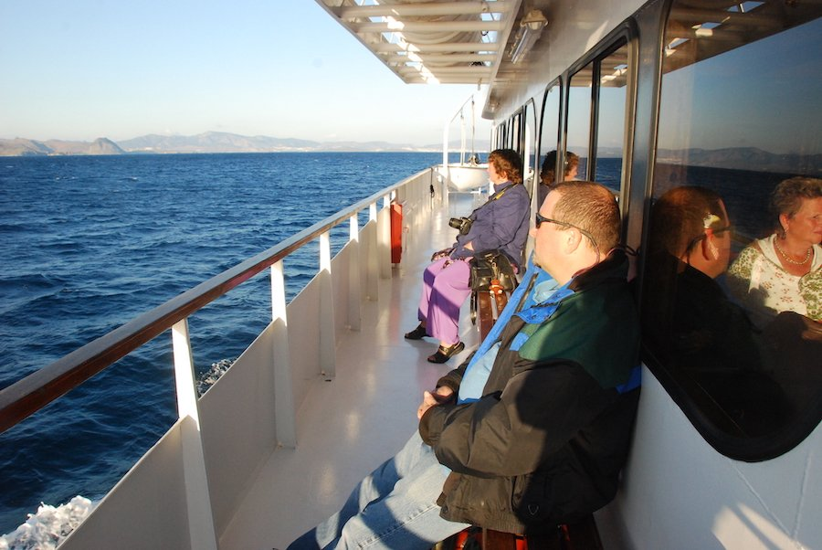 Catamaran Ferry to Turkey