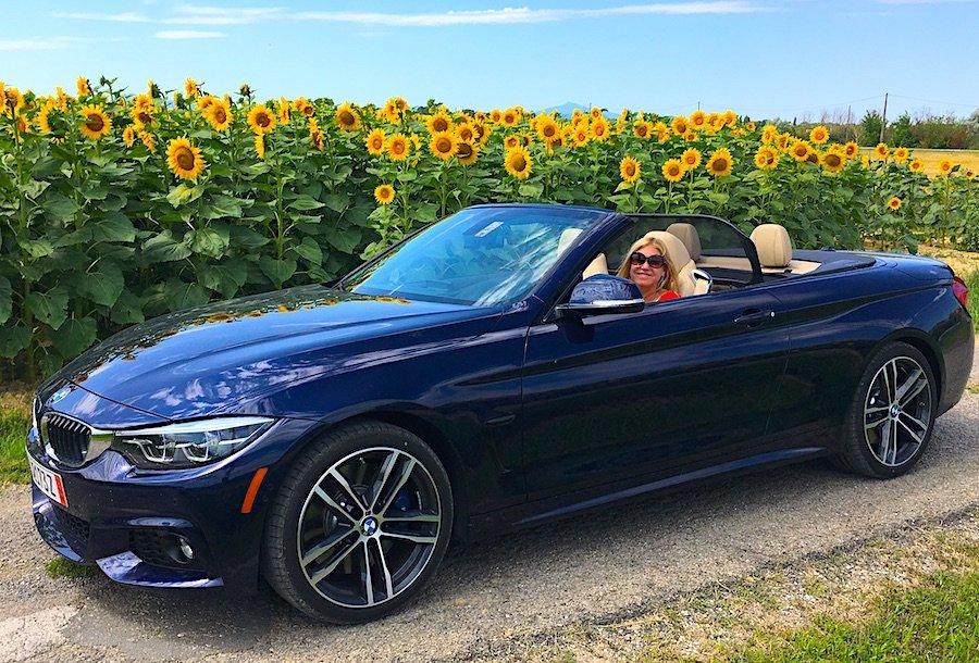 BMW 440I Tuscany Sunflowers