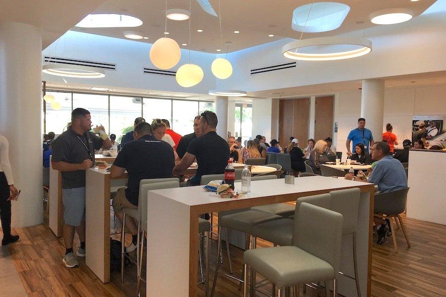 BMW Headquarters Spartanburg, SC Cafeteria