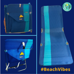 Beach Backpack Lounge Chair