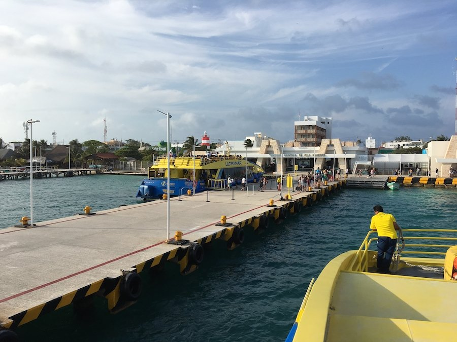Ferry - Transportation and Getting Around Mexico