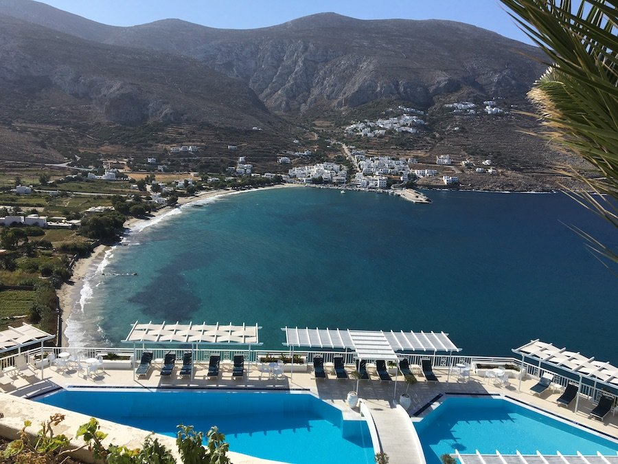 30 Best Swimming Pools to Splash into Travel - Aegialis Hotel and Spa Amorgos Greece