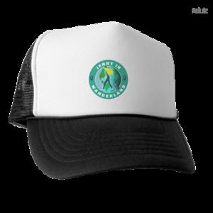 Jenny In Wanderland logo Trucker hat official merchandise
